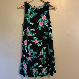Old Navy | Tropical Floral Ruffle Dress | SP